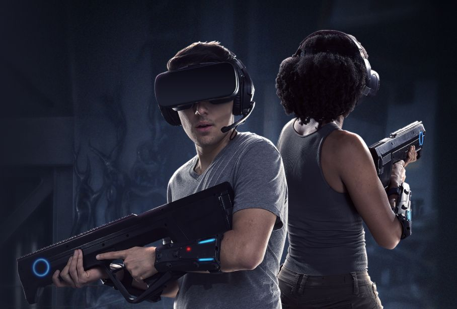 ALIEN DESCENT VR