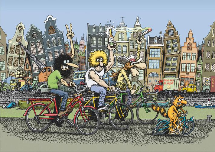 Fabulous Furry Freak Brothers To Fly Flag In Animated Series