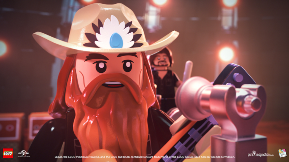 See a Lego Chris Stapleton Slay a Dragon in 'Second One to Know' Video
